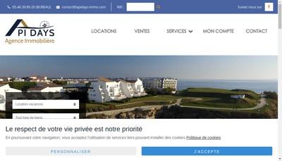 Site internet de Agence Api Days