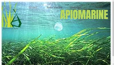 Site internet de Apiomarine