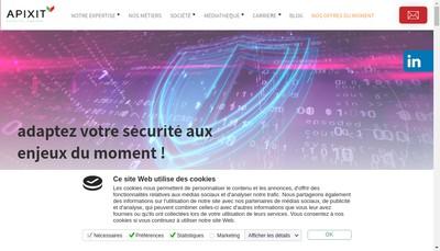 Site internet de APIXIT