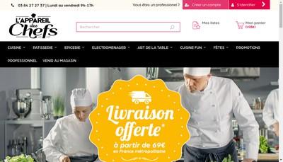 Site internet de Didier Distribution