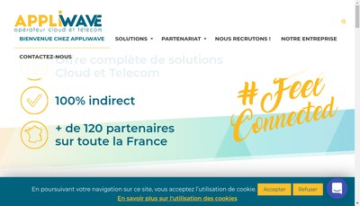 Site internet de Appliwave