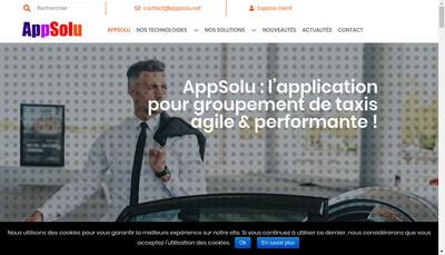 Site internet de Appsolu