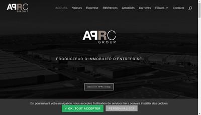 Site internet de Aprc Group