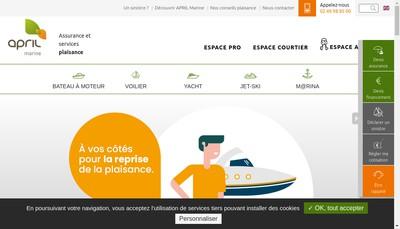 Site internet de Assurance France Plaisance