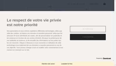 Site internet de April By Mg - Paris