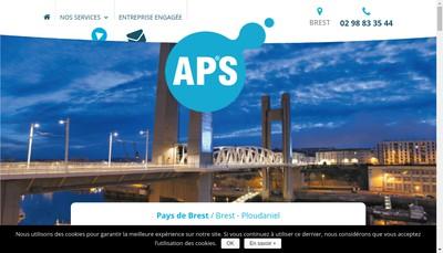 Site internet de APS