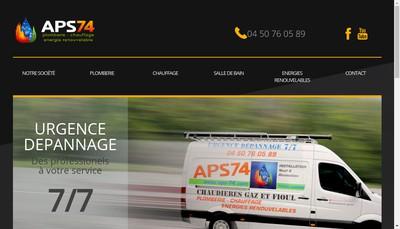 Site internet de Aps 74