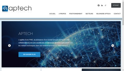 Site internet de Aptech