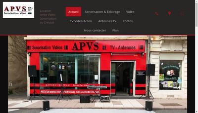 Site internet de Apvs