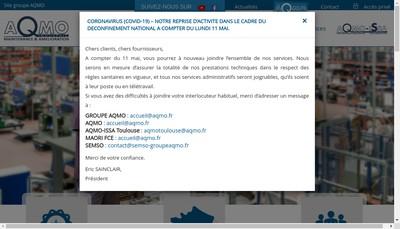 Site internet de AQMO