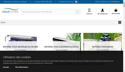 Site internet de Blue Coral