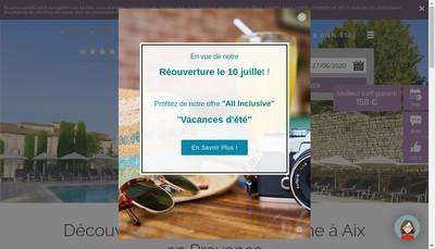 Site internet de Hotel Aquabella