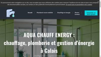 Site internet de Aqua Chauff Energy