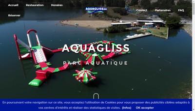 Site internet de Aquagliss 66
