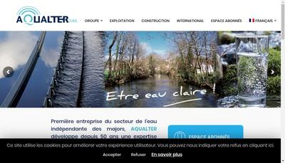 Site internet de Aqualter