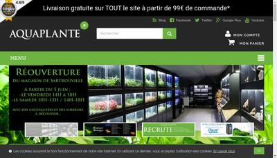 Site internet de Poisson Passion