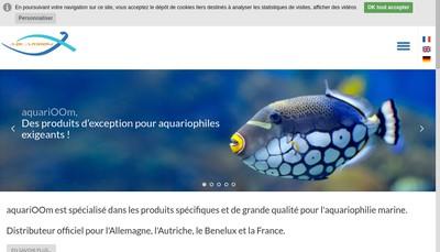Site internet de Aquarioom