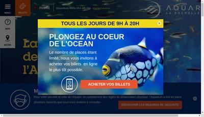 Site internet de Aquarium Coutant