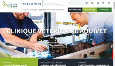 Site internet de Aquivet