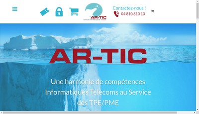 Site internet de Ar-Tic