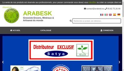 Site internet de Arabesk
