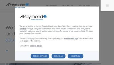 Site internet de A Raymond Gerance
