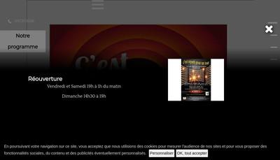 Site internet de Les Arcades de Barjavelle