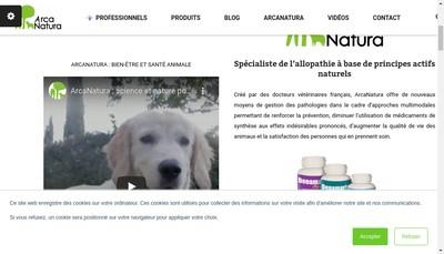 Site internet de Arcanatura