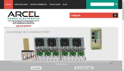 Site internet de Arcel