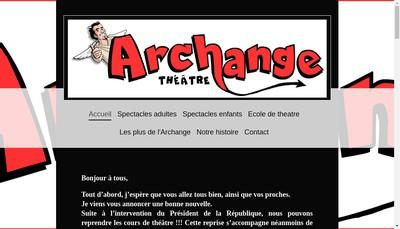 Site internet de L'Archange