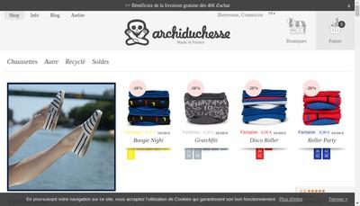 Site internet de Archiduchesse