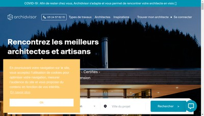 Site internet de Archidvisor