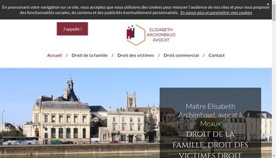 Site internet de Elisabeth Archimbaud