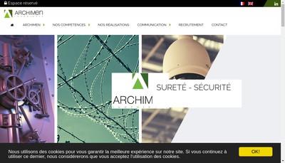 Site internet de Active3D Econimmo Archimen