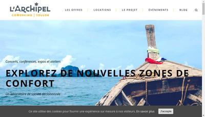 Site internet de L'Archipel