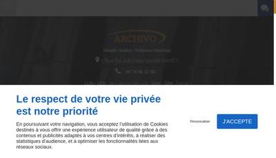 Site internet de Archivo