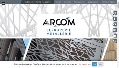 Site internet de Arcom