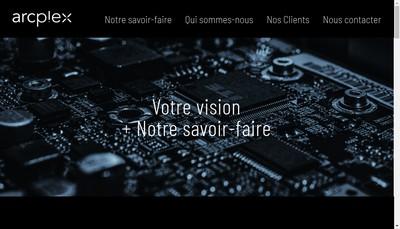 Site internet de Deciplex SAS