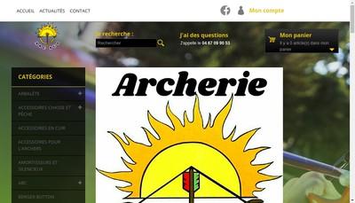 Site internet de Arc Sud