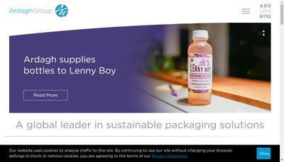 Site internet de Trivium Aluminium Packaging France