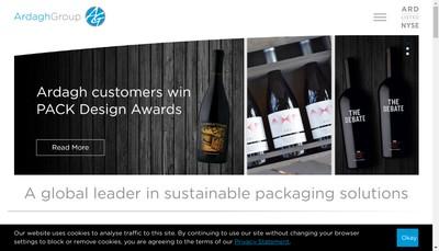 Site internet de Trivium Packaging West France