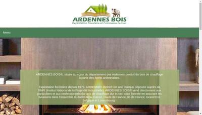 Site internet de Ardennes Bois