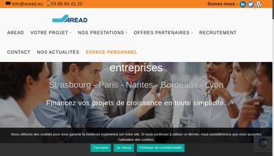 Site internet de Aread