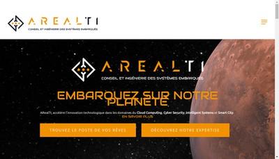 Site internet de Arealti