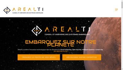 Site internet de Arealti Brainpower