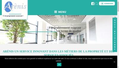 Site internet de Arenis Pro - Arenis Conseil