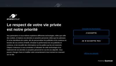 Site internet de Arianegroup SAS