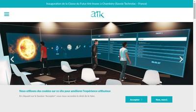 Site internet de Ark