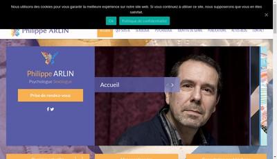 Site internet de Philippe Arlin