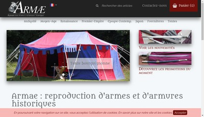 Site internet de Armae